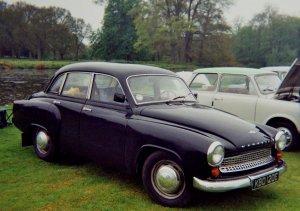 1965_Wartburg_311_(991cc)